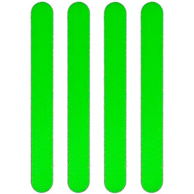 Moto Reflective Stickers, green